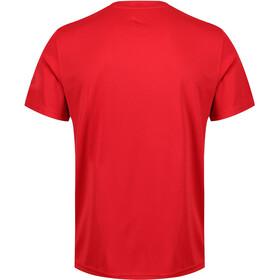Regatta Fingal IV Bluzka z krótkim rękawem Mężczyźni, classic red